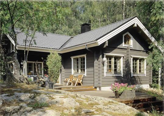 Les quatre l ments les 50 ans de honka le constructeur - Constructeur maison style americaine ...